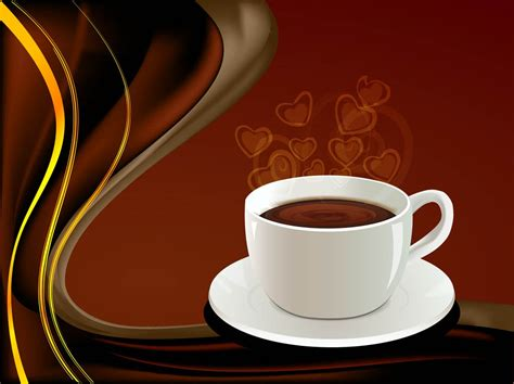 wallpaper coffee vector coffee background