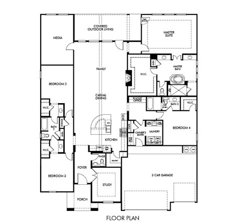 floor plan friday sydney by meritage homes the marr