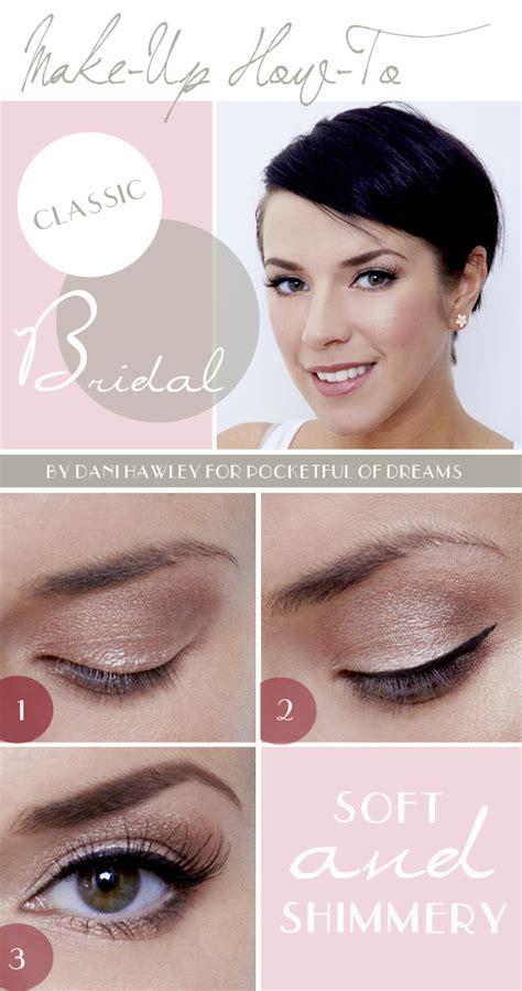 makeup tutorial creating the classic natural eye best wedding makeup looks