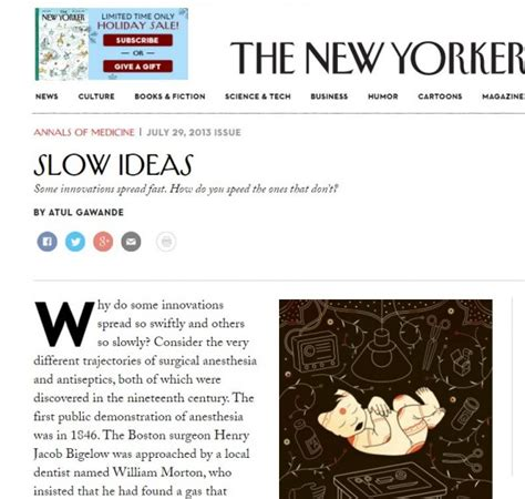 slow ideas the new yorker july 2013 start center