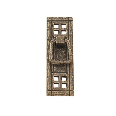 burnished brass cabinet pulls richelieu hardware traditional 4 1 4 in 108 mm