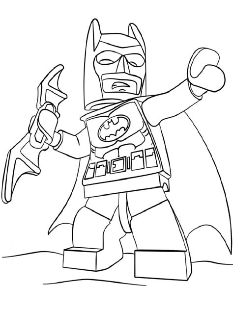 Printable Coloring Pages For Boys Batman by Lego Batman Coloring Pages Free Printable Lego Batman