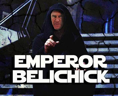 Bill Belichick Memes - bill belichick of the new england patriots as emperor