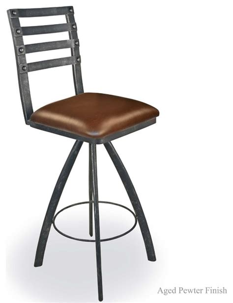 Craftsman Stools by Chanal 25 Quot Swivel Counter Stool No Arms Craftsman Bar