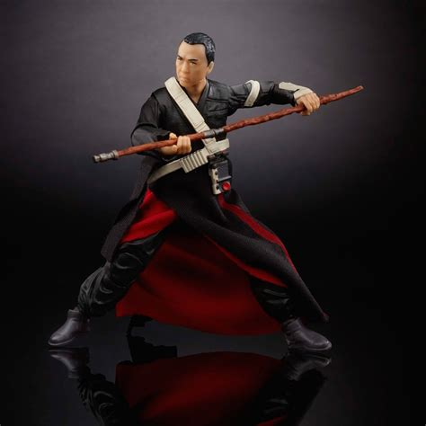 Hasbro Wars Rogue One Black Series 2016 Chirrut Imwe 6 Inch hasbro reveals brand new rogue one and awakens toys for 2016 new york comic con
