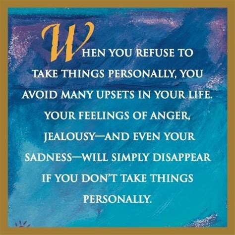 Personally by Don T Take Things Personally Quotes Phrases Funnies