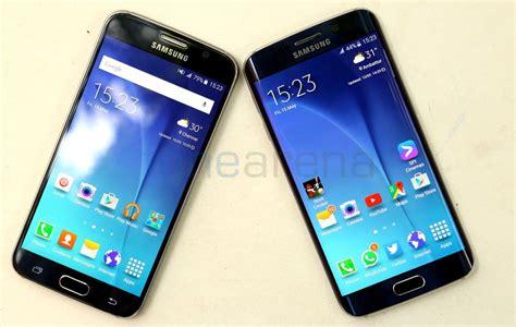 Samsung S6 Vs S6 Edge Samsung Galaxy S6 Vs Galaxy S6 Edge Photo Gallery