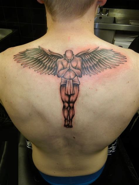 Angel Tattoos Ideas To Rediscover Your Strength The
