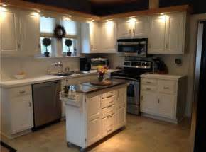 Small Kitchen Islands 25 Portable Kitchen Islands Rolling Movable Designs Designing Idea