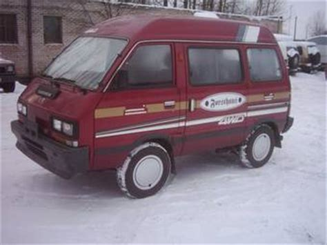 subaru libero for sale 1991 subaru libero for sale 1 2 gasoline manual for sale