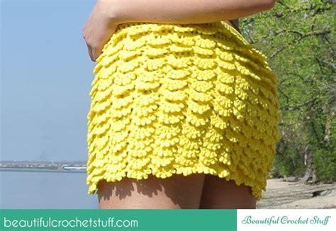 Crochet Leaf Tunic Free Pattern Beautiful Crochet Stuff layered crochet skirt free pattern beautiful crochet stuff