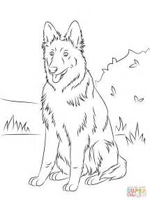german shepherd coloring coloring home