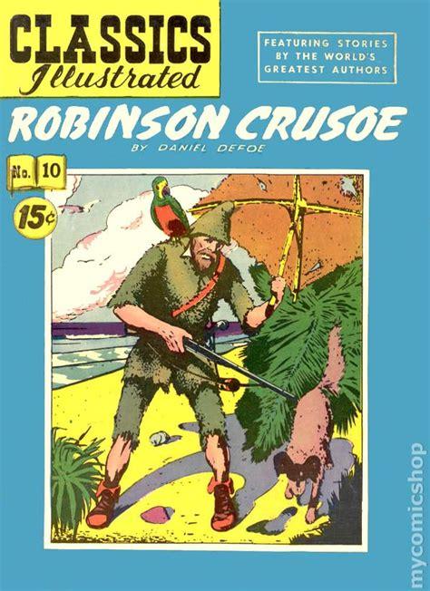 robinson crusoe centaur classics robin comic books issue 10