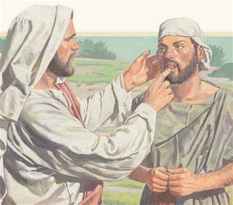 imagenes de jesus sanando un ciego relatos del nuevo testamento cap 237 tulo 31 jes 250 s sana a un