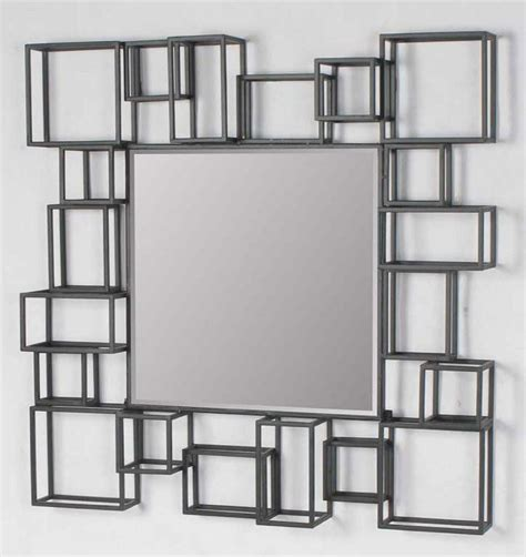 large decorative frame large modern geometric square decorative art