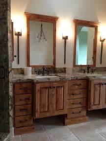 Elegant Rustic Bathroom Ideas - rustic elegance rustic bathroom san luis obispo by