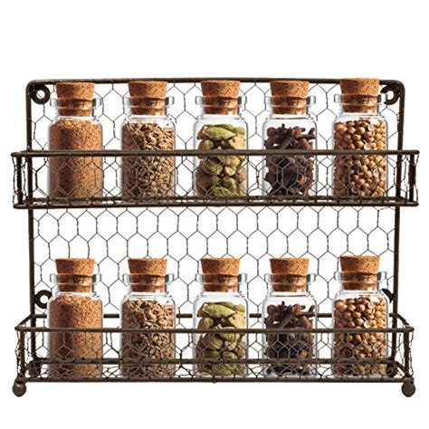 Spice Rack Countertop by Spice Rack Multi Purpose Organizer 2tier Wall Mount