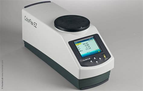 color spectrophotometer hunterlab colorflex ez spectrophotometer