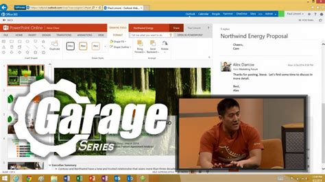 The Garage New Series by The Garage Series For Office 365 New User Experiences