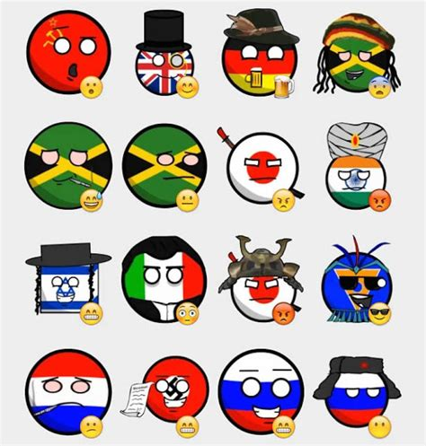 flags of the world telegram country balls stickers set telegram stickers