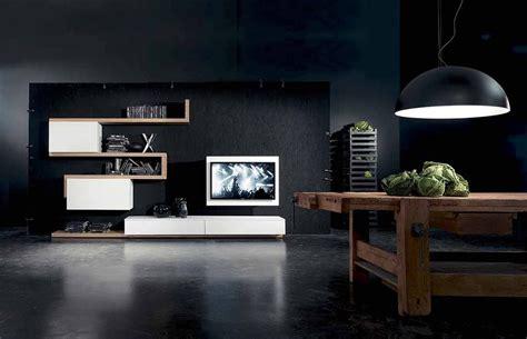 soggiorni originali parete attrezzata side system mod 7 con porta tv brevettato