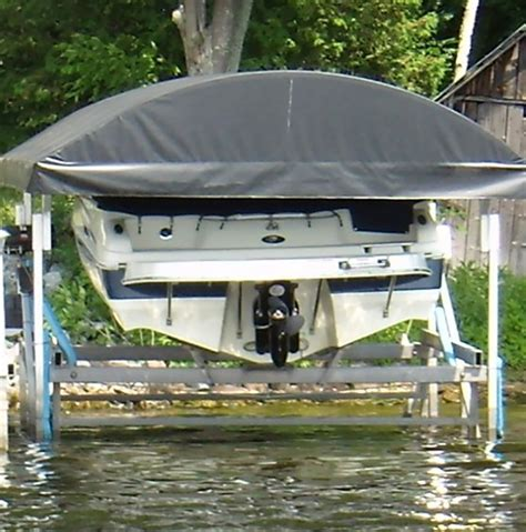 boat lift bunk covers vertical boat lift features dockmaster