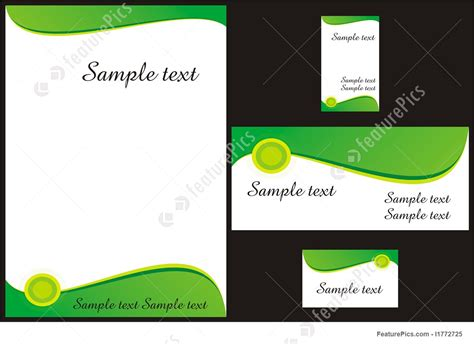 id card background template templates corporate identity template stock
