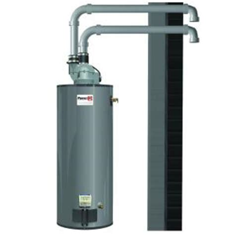 gas water heaters at appliance store