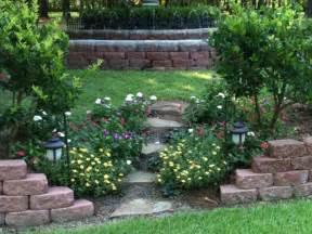 the effective landscape ideas for sloped backyard cdhoye