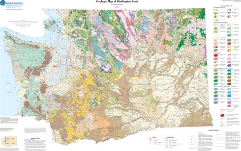 happy geologic map day washington state geology news