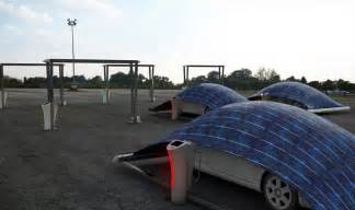 Car Cover Gazebo V Tent Solar Panel Parking System By Hakan Gursu