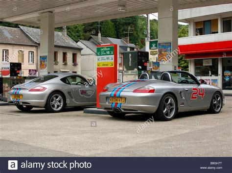 Porsche Cayman Martini by Porsche Cayman 987 And Boxster S 550 Spyder With