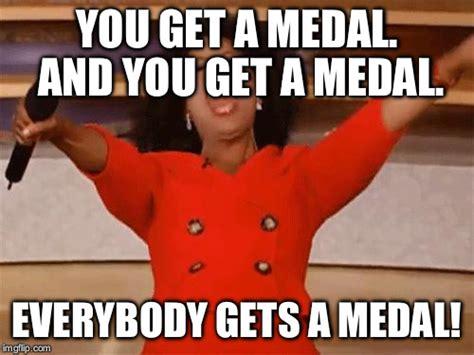 Medal Meme - oprah imgflip