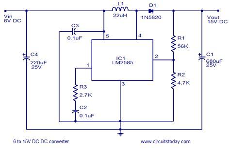 dc converter circuit diagram world dc free engine image
