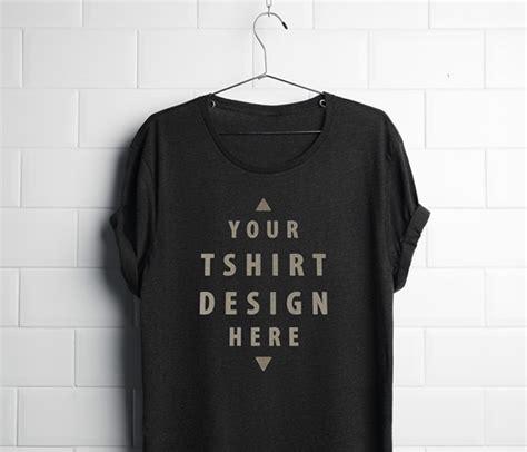 Free Black T Shirt Mockup Psd T Shirt Template Psd