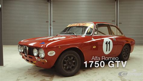 alfa romeo race cars cartorque series 2 alfa romeo 1750 gtv race car