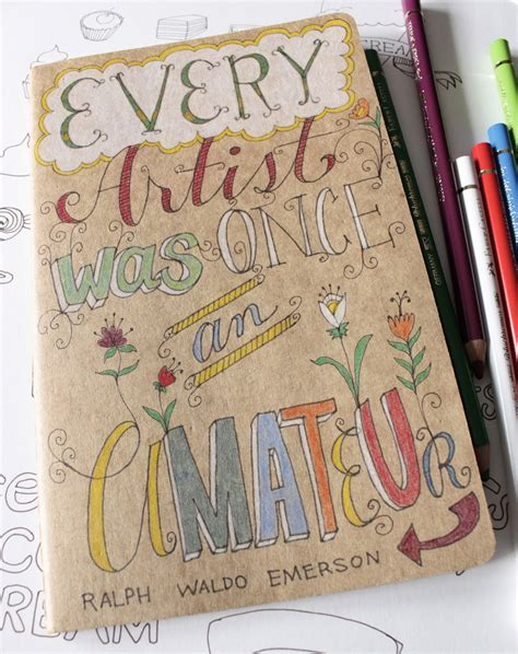 Quotes For Sketchbook Covers Quotesgram