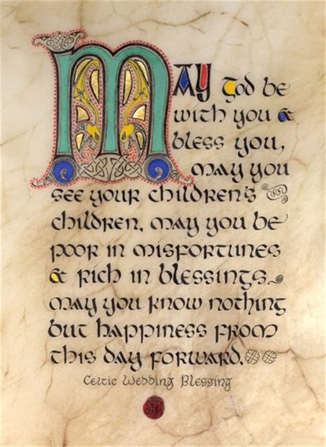 Wedding Blessing Prices by Celtic Card Company Presents The Illustrated Manuscripts