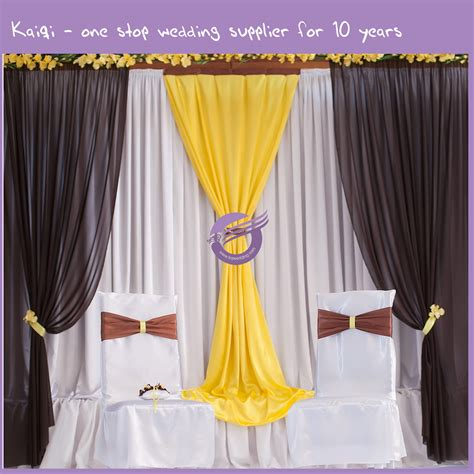 Voile Wedding Backdrop by Wedding Sheer Voile 108inch W Drape Backdrop 19869 Kaiqi