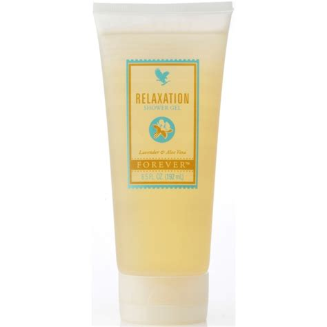 forever relaxation shower gel aloe herbal remedies