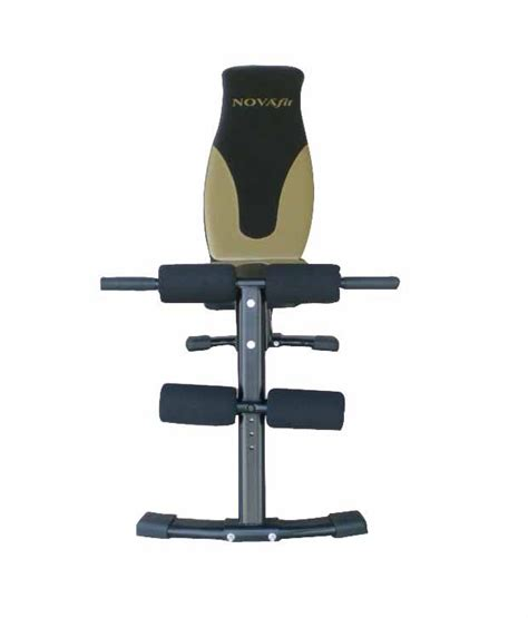 exercise bench online novafit sa 230 exercise bench buy online at best price on snapdeal