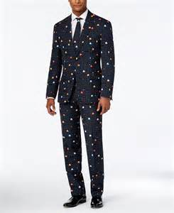 2016 uk opposuits slim fit pac man suit and tie black for men online