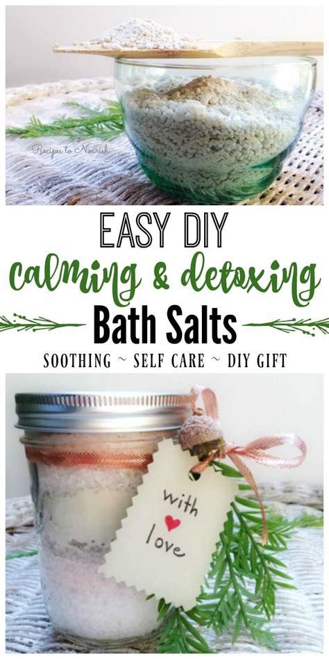 Https Www Beautyaura Diy Bath Recipes Detox Bath Soak by Diy Calming Detoxing Bath Salts Recipes To Nourish