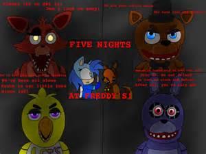 Art of songs 5 five nights at freddy s by spadealicewolf321
