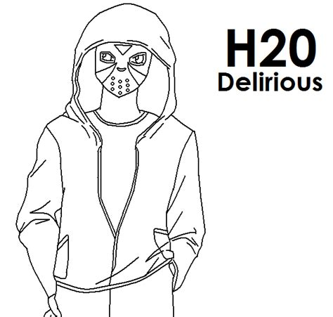 coloring pages of vanoss h2o delirious pokemon card images pokemon images