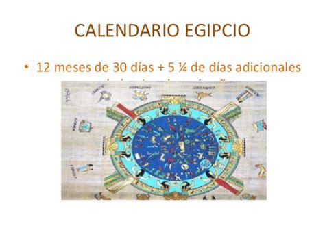 Calendario De Egipto Antiguo Egipto