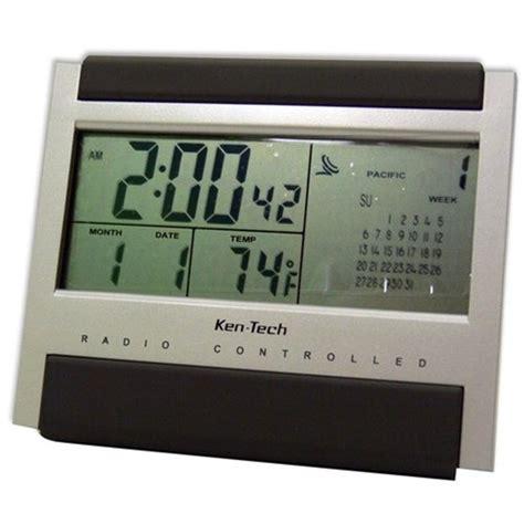 atomic radio controlled lcd alarm clock alarm clocks room needs college living