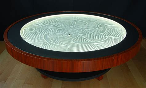 Sand Coffee Table New Kinetic Sand Drawing Tables By Bruce Shapiro Colossal