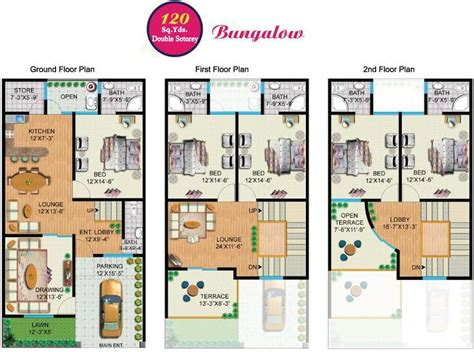 house plans by korel home designs for the home pinterest rainbow sweet homes 120 sq yards double storey