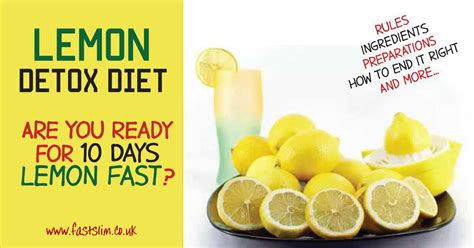 Lemon Detox Diet Uk by Cleanse Archives Fastslim Weight Loss Plan